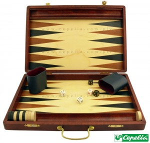 Gra Tryktrak (Backgammon) duża